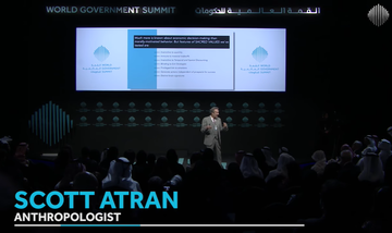 World Government Summit | Hopes and Dreams in a World of Fear - Scott Atran